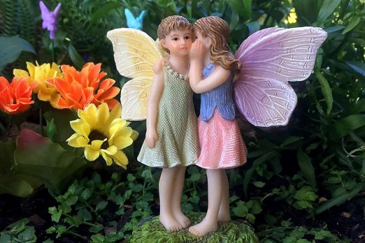 Fairies Sharing Secrets - Fairies For Fairy Garden