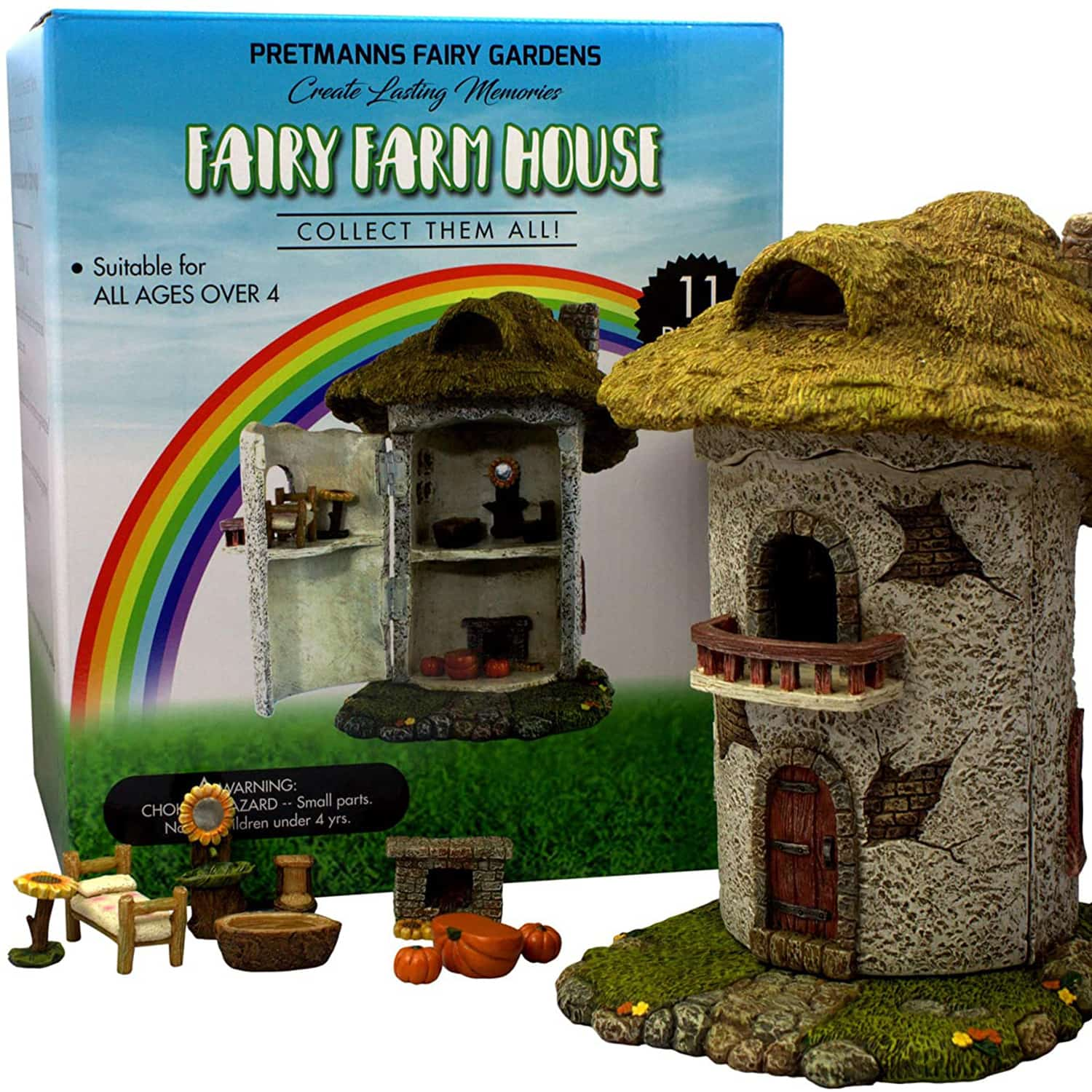 Fairy Farm House And Furniture