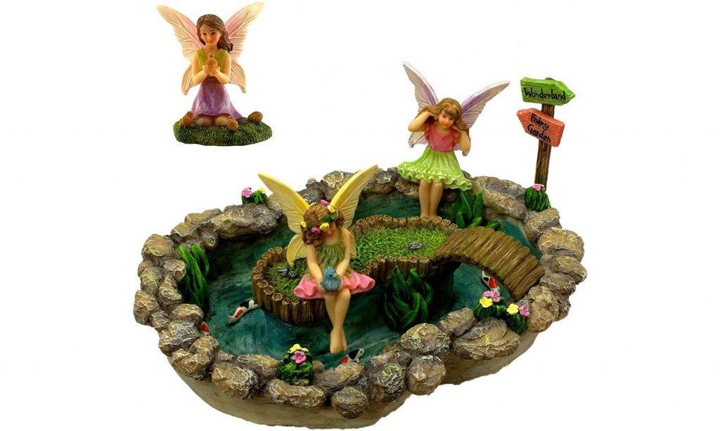 Fairy Garden Pond Set
