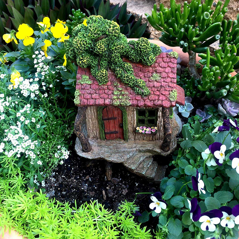 Fairy Garden Tree House Set