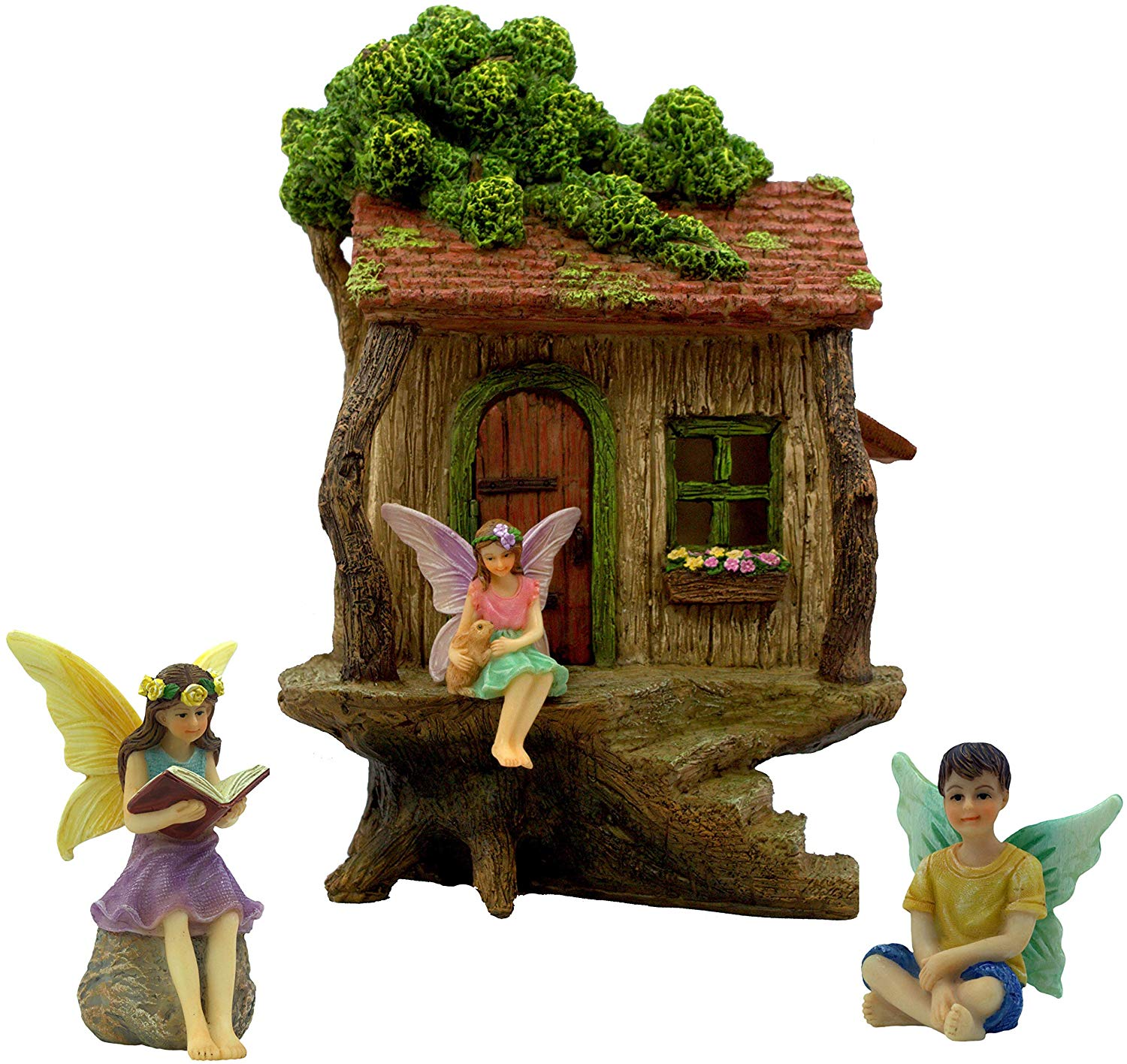 Fairy Garden Tree House Set