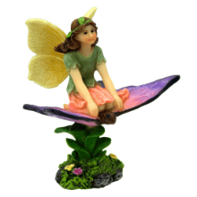 Fairy Lucy riding a Butterfly