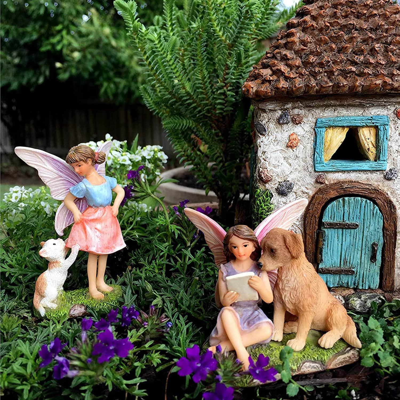 Fairy Pine Cone House Set