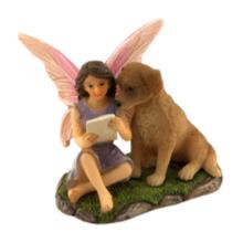 Fairy Sofia with puppy
