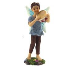Musician Boy Fairy Jed - Fairies For Fairy Garden