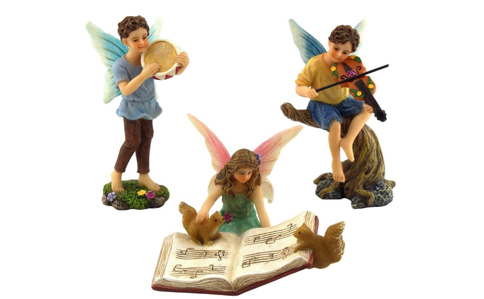 Musician Fairies Set