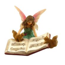 Musician Fairy Bonnie - Fairies For Fairy Garden