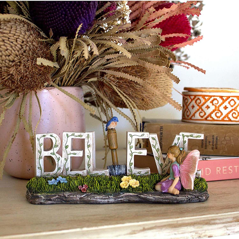 Believe Fairy Ornament