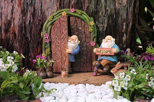 Miniature Fairy Garden Gnome Set 1