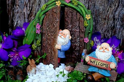 Miniature Fairy Garden Gnome Set 2