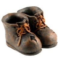 gnome planter boots