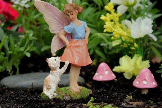 Fairy Ava and Cat