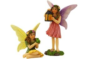 Fairy Skylar & Fairy Willow - Fairy Garden Fairies