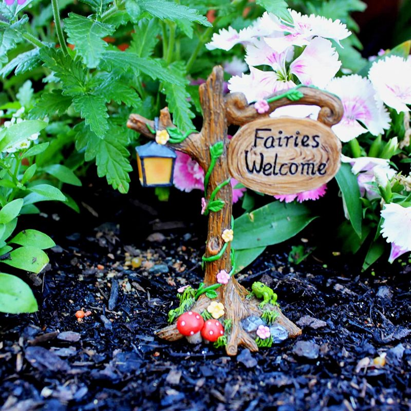Enchanted Fairy Set - Fairy Garden Accessories 2