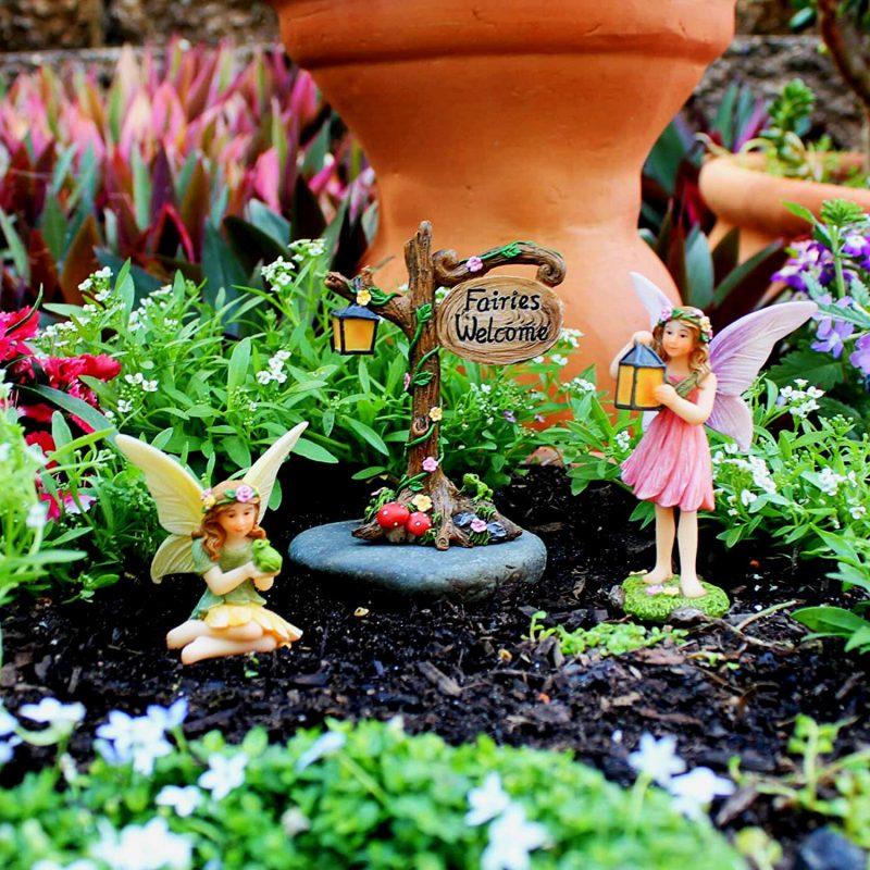 Enchanted House Set - Fairy Garden Houses 2