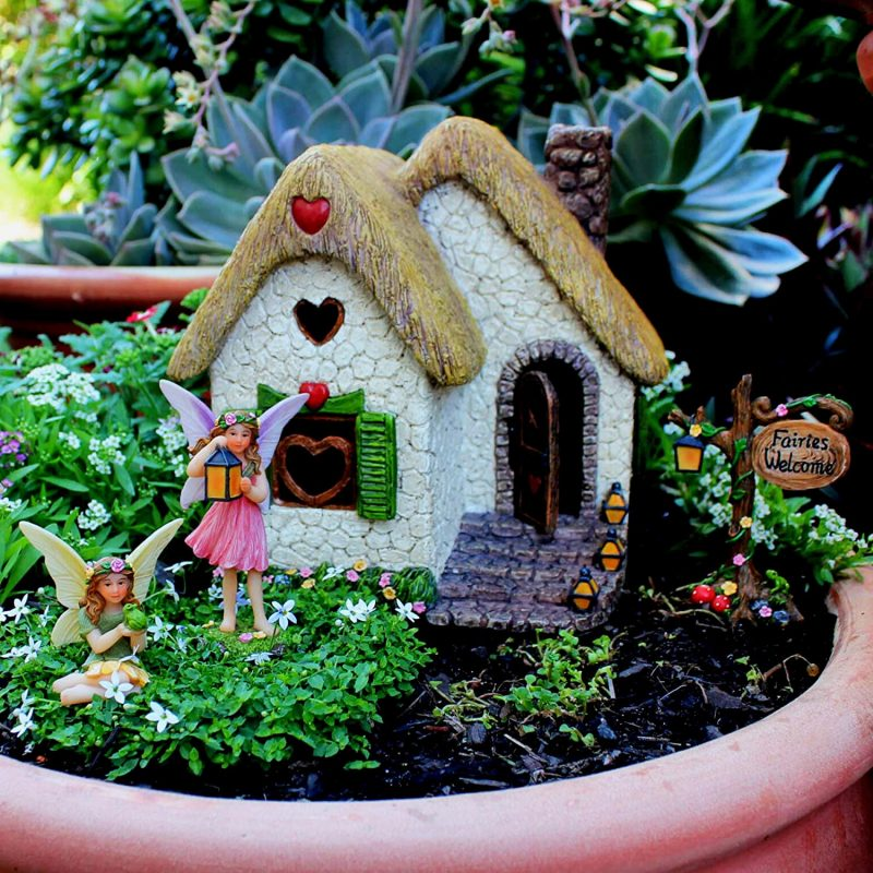 Enchanted House Set - Fairy Garden Houses 3