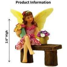Fairy Isabella Sitting on a Bench
