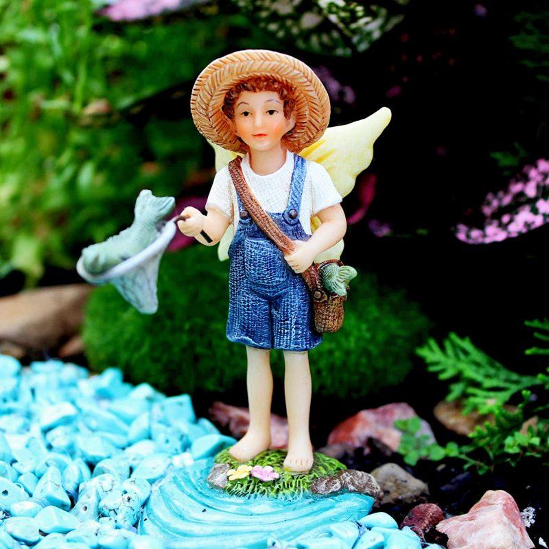 Fishing Buddies - Fairy Garden Fairies 3