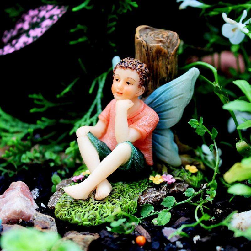 Fishing Buddies - Fairy Garden Fairies 4