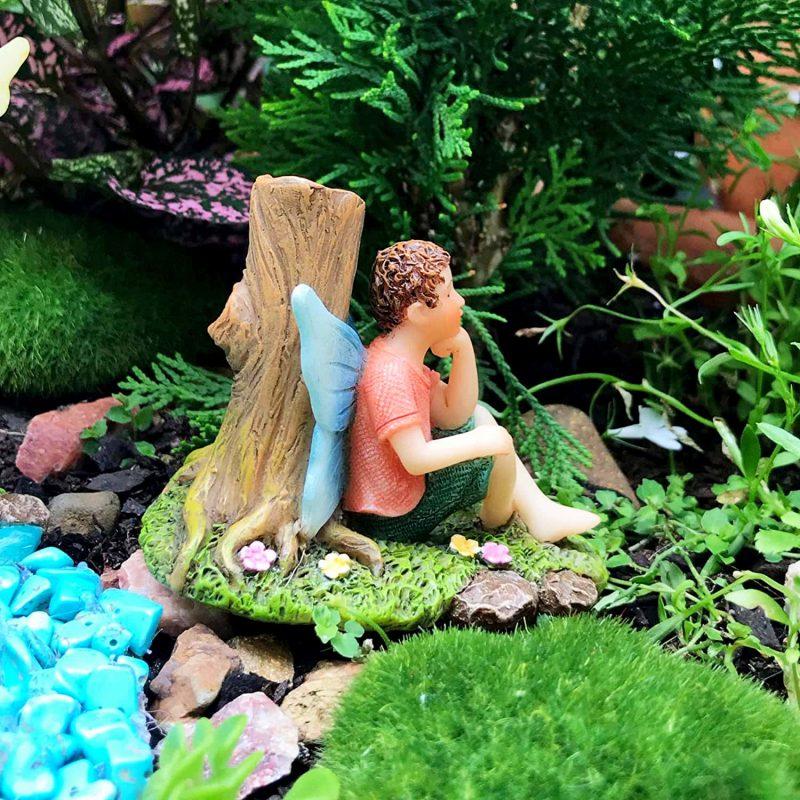 Fishing Buddies - Fairy Garden Fairies