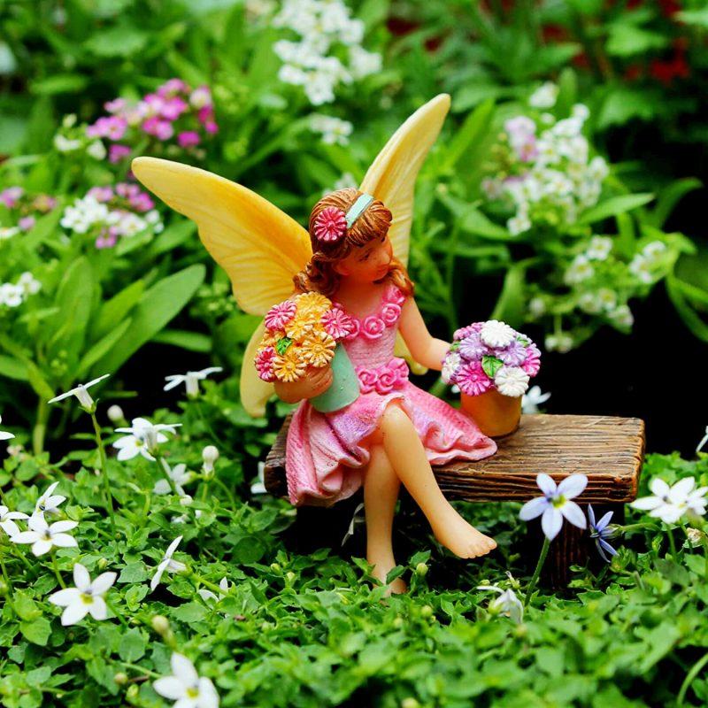 Tree Swing Set - Fairy Garden Accessories 3