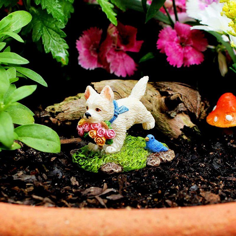 Tree Swing Set - Fairy Garden Accessories 4